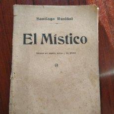 Alte Bücher - EL MISTICO (1913) de Santiago Rusiñol - 155145126