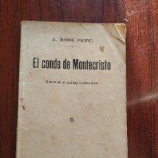Libros antiguos: EL CONDE DE MONTECRISTO (1913) DE ALEJANDRO DUMAS. Lote 155152582