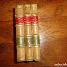 Libros antiguos: OBRAS DRAMÁTICAS DE EURÍPIDES- MADRID 1909-TRES TOMOS.. Lote 155262086