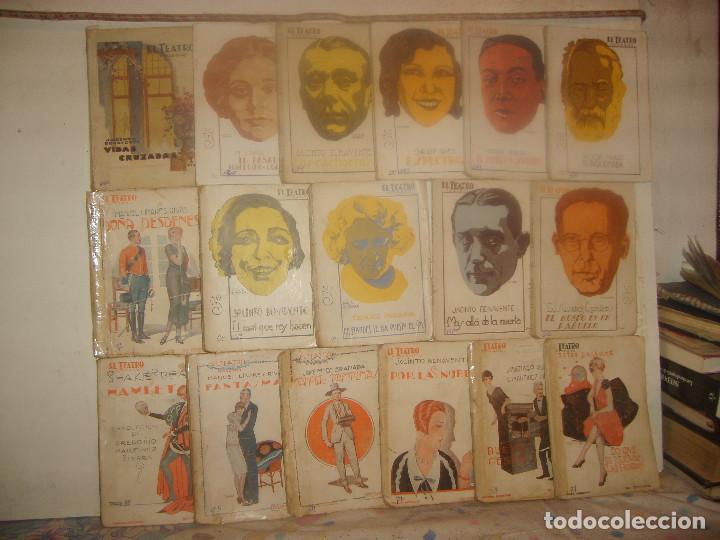 LOTE 33 OBRAS EL TEATRO MODERNO. EDICIONES PRENSA MODERNA AÑOS 20. PORTES GRATIS. (Libros antiguos (hasta 1936), raros y curiosos - Literatura - Teatro)