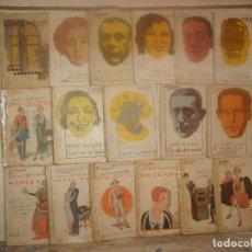 Libros antiguos: LOTE 33 OBRAS EL TEATRO MODERNO. EDICIONES PRENSA MODERNA AÑOS 20. PORTES GRATIS.. Lote 155581266