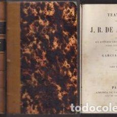 Libros antiguos: TEATRO DE J. R. DE ALARCÓN. TOMO PRIMERO Y SEGUNDO - GARCÍA-RAMÓN (ESTUDIO CRÍTICO) - A-TEA-464. Lote 155678210