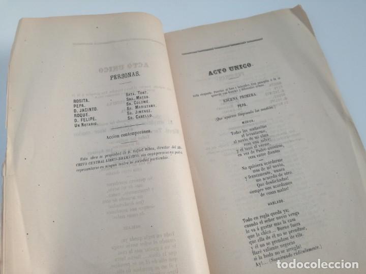 Libros antiguos: MUY RARO: MARIA ANTONIETA, JUGUETE CÓMICO-LÍRICO EN UN ACTO - OBRA DE GERARDO BLANCO (1871) - Foto 3 - 157960410