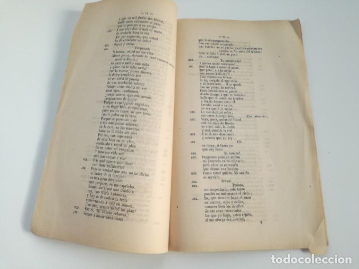 Libros antiguos: MUY RARO: MARIA ANTONIETA, JUGUETE CÓMICO-LÍRICO EN UN ACTO - OBRA DE GERARDO BLANCO (1871) - Foto 4 - 157960410