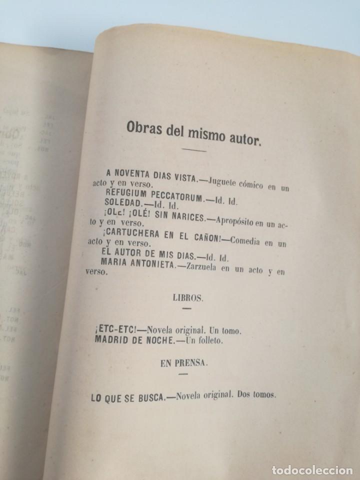 Libros antiguos: MUY RARO: MARIA ANTONIETA, JUGUETE CÓMICO-LÍRICO EN UN ACTO - OBRA DE GERARDO BLANCO (1871) - Foto 5 - 157960410