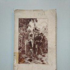 Libros antiguos: ESPAÑA INMORTAL (CUADROS HISTÓRICOS). EL DESCUBRIMIENTO. FRANCISCO DE FRANCISCO. TDK377A. Lote 158580522