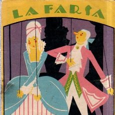 Libros antiguos: MI MUJER ES UN GRAN HOMBRE. LA FARSA. J. J. CADENAS Y ENRIQUE F. GUTIERREZ- ROIG. 1927.. Lote 158654458