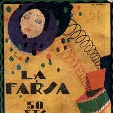 Libros antiguos: NO HAY DIFICULTAD. CRISTOBALON. LA FARSA. 1928.. Lote 158654994