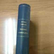 Libros antiguos: TEATRO COMPLETO TOMO XVIII, SERAFÍN Y JOAQUÍN ÁLVAREZ QUINTERO. Lote 158669894
