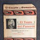 Libros antiguos: TEATRO POPULAR EN VALENCIANO. SAINETE. EL TONTO DEL PANEROT ..(A.1918). Lote 159101790