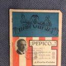 Libros antiguos: TEATRO POPULAR EN VALENCIANO. SAINETE. PEPICO COMEDIA EN UN ACTE EN PROSA (A.1923). Lote 159166060