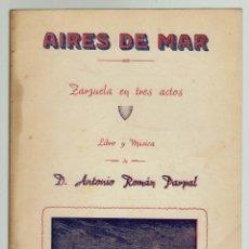 Libros antiguos: AIRES DE MAR, POR ANTONIO ROMÁN PARPAL VIDAL. AÑO 1941. (MENORCA.9.7). Lote 160461198