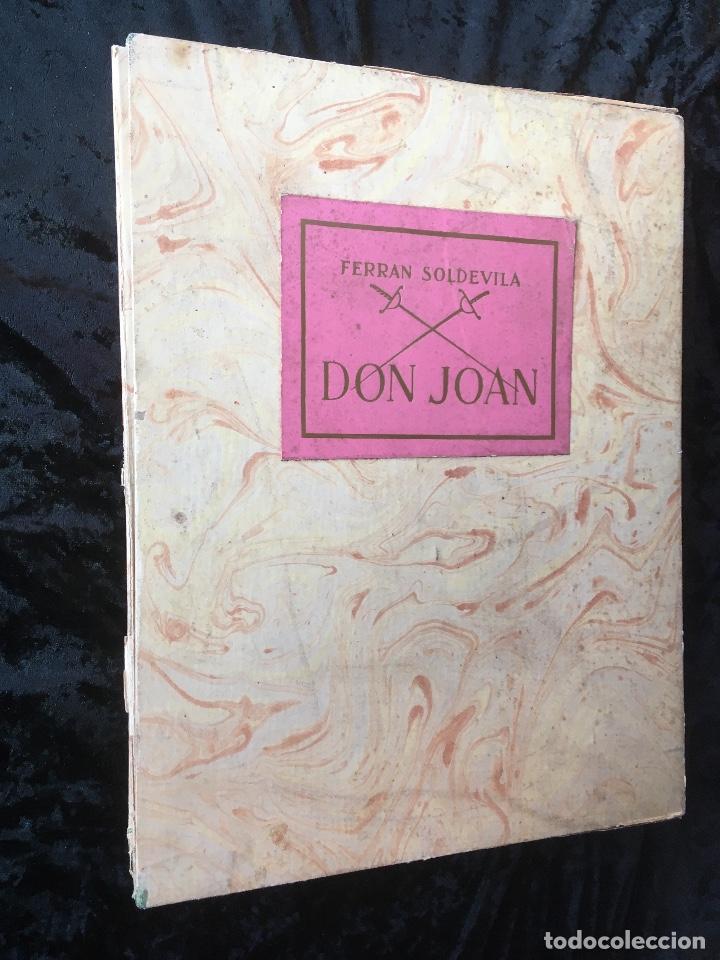 DON JUAN - FERRAN SOLDEVILA - ILUSTA GRAU SALA - EDICION LIMITADA Y NUMERADA - COLECCIONISTAS (Libros antiguos (hasta 1936), raros y curiosos - Literatura - Teatro)