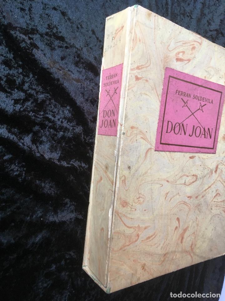 Libros antiguos: DON JUAN - FERRAN SOLDEVILA - ILUSTA GRAU SALA - EDICION LIMITADA Y NUMERADA - coleccionistas - Foto 5 - 160696126