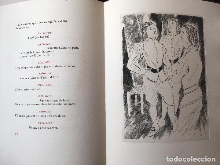 Libros antiguos: DON JUAN - FERRAN SOLDEVILA - ILUSTA GRAU SALA - EDICION LIMITADA Y NUMERADA - coleccionistas - Foto 11 - 160696126