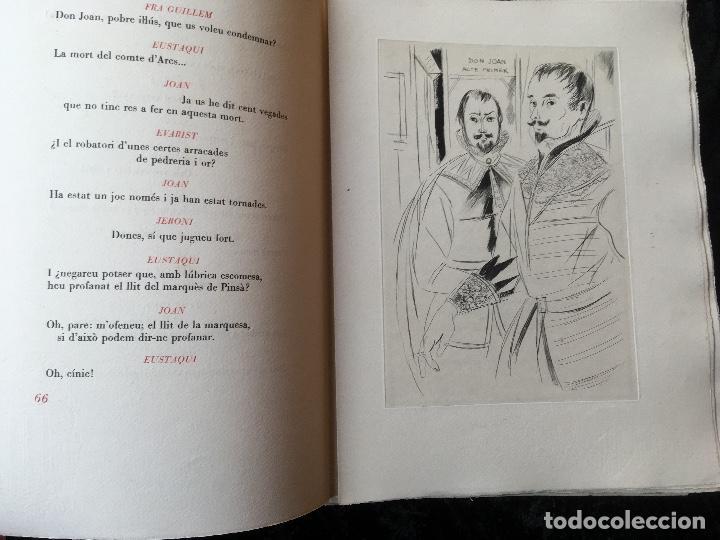 Libros antiguos: DON JUAN - FERRAN SOLDEVILA - ILUSTA GRAU SALA - EDICION LIMITADA Y NUMERADA - coleccionistas - Foto 12 - 160696126