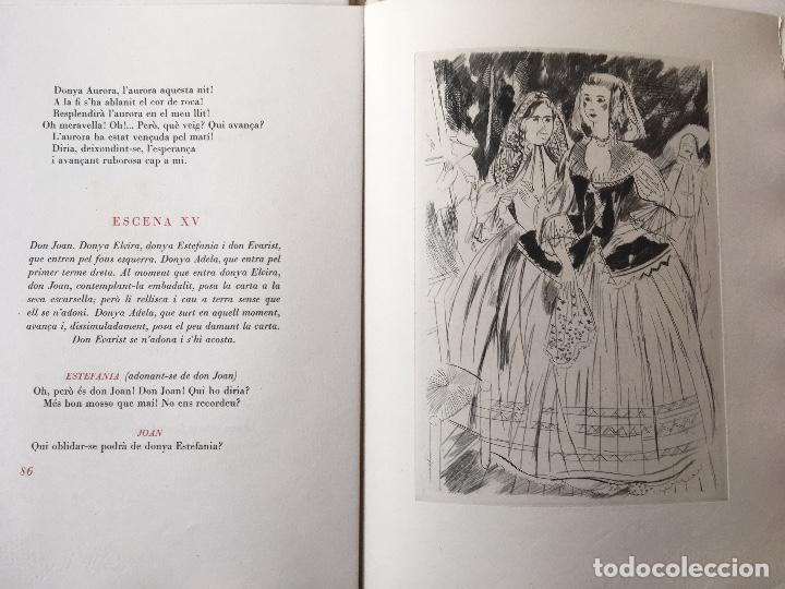 Libros antiguos: DON JUAN - FERRAN SOLDEVILA - ILUSTA GRAU SALA - EDICION LIMITADA Y NUMERADA - coleccionistas - Foto 13 - 160696126