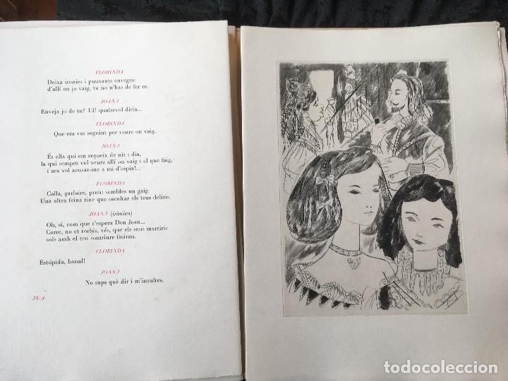 Libros antiguos: DON JUAN - FERRAN SOLDEVILA - ILUSTA GRAU SALA - EDICION LIMITADA Y NUMERADA - coleccionistas - Foto 14 - 160696126