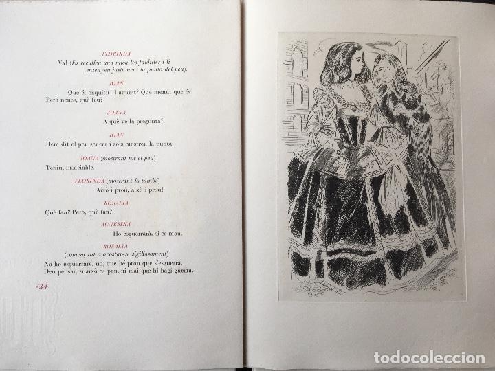Libros antiguos: DON JUAN - FERRAN SOLDEVILA - ILUSTA GRAU SALA - EDICION LIMITADA Y NUMERADA - coleccionistas - Foto 15 - 160696126