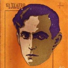Libros antiguos: LOS GORRIONES DEL PRADO.TEATRO MODERNO Nº155. VIDAL Y PLANAS,A. A-TEMO-163.. Lote 195168931