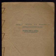 Libros antiguos: !!!QUE CHICO ES MAHÓN¡¡¡, POR JOSÉ RIERA SAMPOL. AÑO 1928. (MENORCA.2.3). Lote 161787786