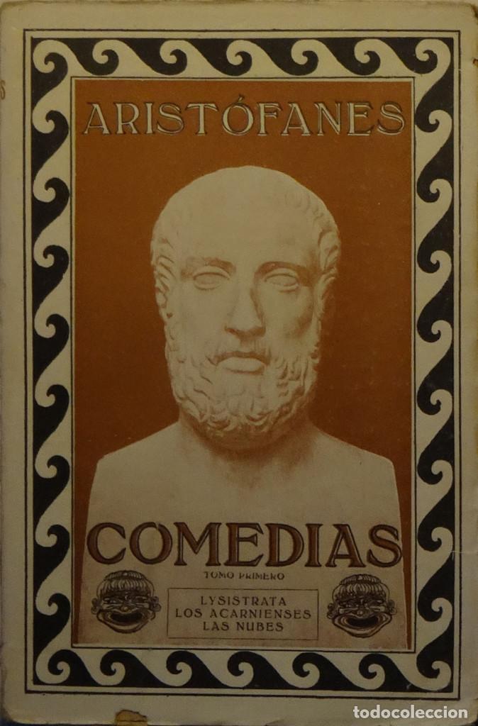 COMEDIAS DE ARISTÓFANES (Libros antiguos (hasta 1936), raros y curiosos - Literatura - Teatro)