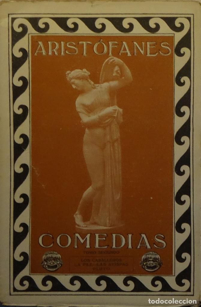 Libros antiguos: COMEDIAS DE ARISTÓFANES - Foto 2 - 163774474