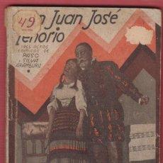 Libros antiguos: DON JUAN JOSE TENORIO J,SILVA ARAMBURU Y ENRIQUE PASO LA FARSA 1931 ILUSTRACIONES PAG88 LTEA747. Lote 54667939