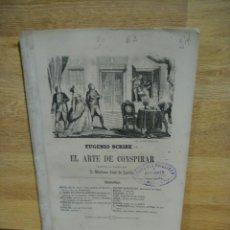Libros antiguos: EL ARTE DE CONSPIRAR - EUGENIO SCRIBE. Lote 166225934