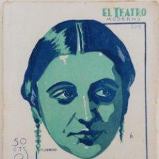 Libros antiguos: EL TEATRO MODERNO Nº 209 - LA HIJAS DEL CID - POR EDUARDO MARQUINA - AÑO 1929 . Lote 166998188