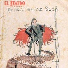 Libros antiguos: PEDRO MUÑOZ SECA - LA MUERTE DEL DRAGON. COLECCIÓN EL TEATRO Nº 139 (AÑO 1928). Lote 167011840