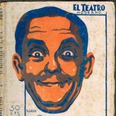 Libros antiguos: PEDRO MUÑOZ SECA - EL VATICINIO. COLECCIÓN EL TEATRO Nº 206 PRIMERA EDICIÓN (AÑO 1929). Lote 167011916