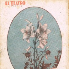 Libros antiguos: GREGORIO MARTINEZ SIERRA, - LIRIO ENTRE ESPINAS. COLECCIÓN EL TEATRO MODERNO, Nº 75 (AÑO 1927). Lote 167018952