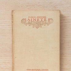 "Libros antiguos: ""SAINETES. (COL. BIBLIOTECA CALLEJA, 1918)"" - ""ARNICHES, CARLOS"". Lote 167082466"
