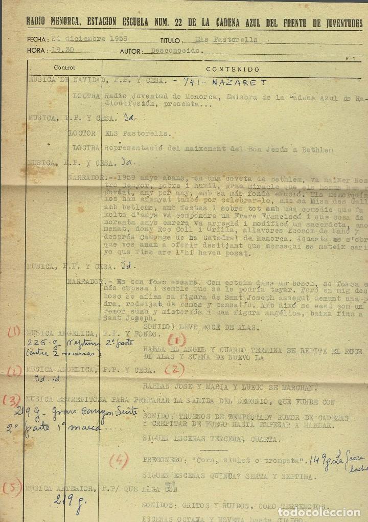 Libros antiguos: ELS PASTORELLS. COMÈDIA EN MENORQUÍ, EN VERS I EN TRES ACTES, DES NAIXEMENT... AÑO 1933(MENORCA.2.4) - Foto 4 - 168186196