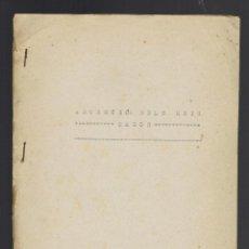 Libros antiguos: ADORECIÓ DELS REIS MAGOS. MECANOGRAFIADO. AÑO 1894. (MENORCA.2.4). Lote 168186524