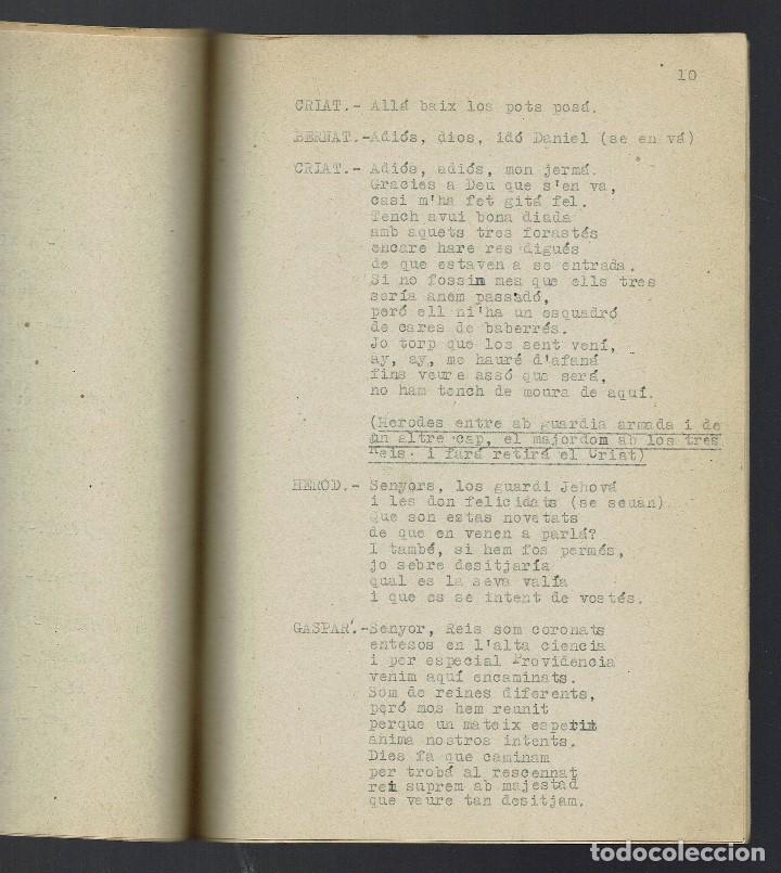 Libros antiguos: ADORECIÓ DELS REIS MAGOS. MECANOGRAFIADO. AÑO 1894. (MENORCA.2.4) - Foto 2 - 168186524