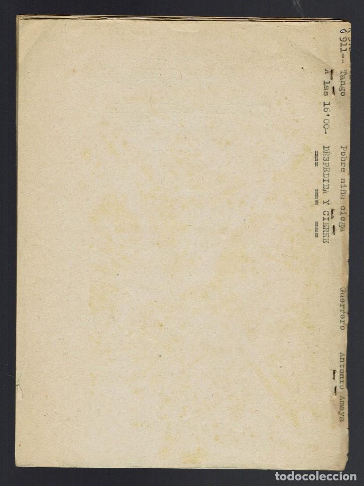 Libros antiguos: ADORECIÓ DELS REIS MAGOS. MECANOGRAFIADO. AÑO 1894. (MENORCA.2.4) - Foto 3 - 168186524