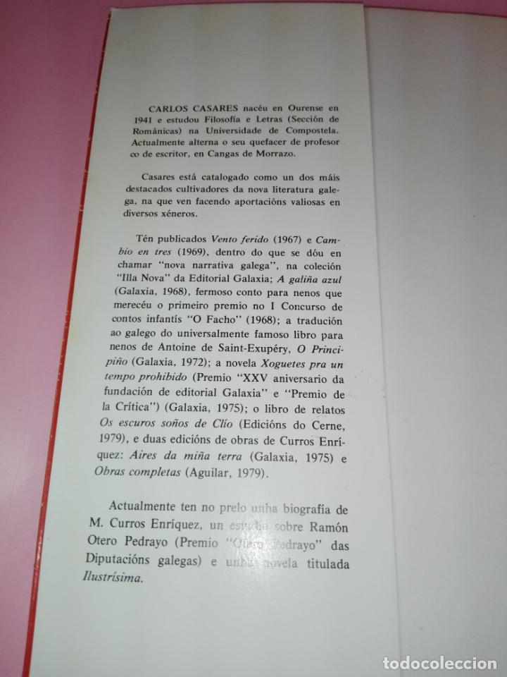 Libros antiguos: LIBRO-AS LARANXASMAIS LARANXAS DE TODAS AS LARANXAS.CARLOS CASARES-ED.GALAXIA-2ªEDICIÓN-1979- - Foto 3 - 168759068