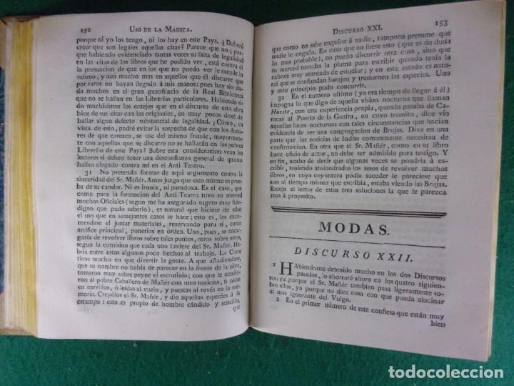 Libros antiguos: TEATRO CRITICO / GERONIMO FEIJOO / 1777-1783-1778-1774 / 7 TOMOS - Foto 6 - 168825748