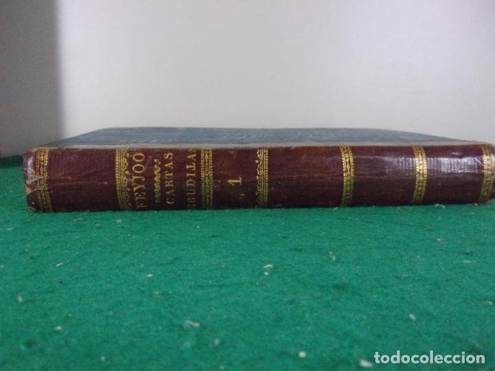 Libros antiguos: TEATRO CRITICO / GERONIMO FEIJOO / 1777-1783-1778-1774 / 7 TOMOS - Foto 14 - 168825748