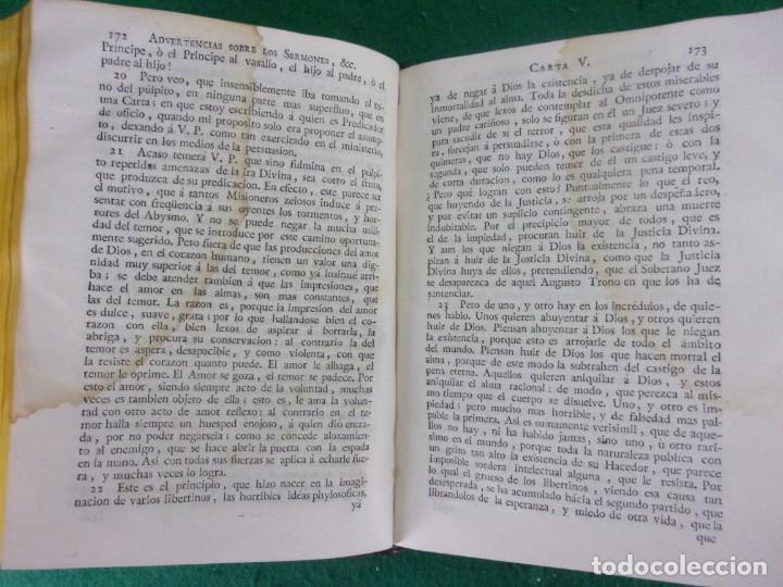 Libros antiguos: TEATRO CRITICO / GERONIMO FEIJOO / 1777-1783-1778-1774 / 7 TOMOS - Foto 37 - 168825748