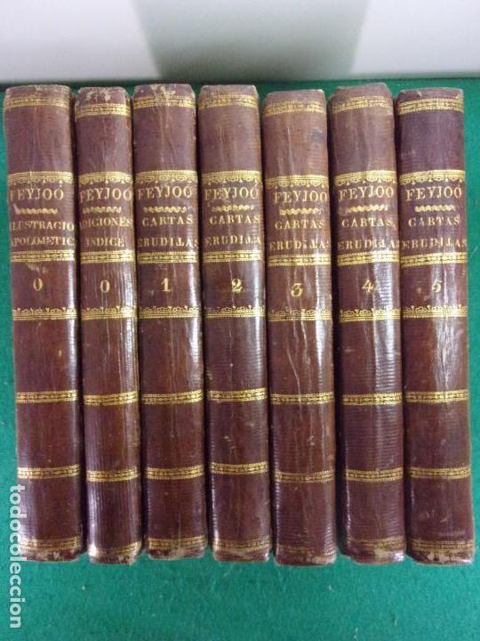 TEATRO CRITICO / GERONIMO FEIJOO / 1777-1783-1778-1774 / 7 TOMOS (Libros antiguos (hasta 1936), raros y curiosos - Literatura - Teatro)