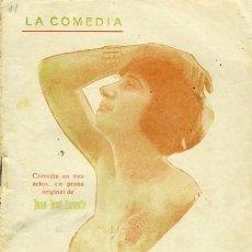 Libros antiguos: JUAN JOSÉ LORENTE, LA PENA DE LOS VIEJOS, MADRID, LA COMEDIA Nº 11, 30 AGOSTO 1925.. Lote 168863412