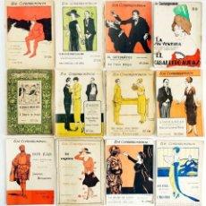 Libros antiguos: LOTE 12 LIBRETOS LOS CONTEMPORÁNEOS. AÑOS 1918-1922. Lote 168981000