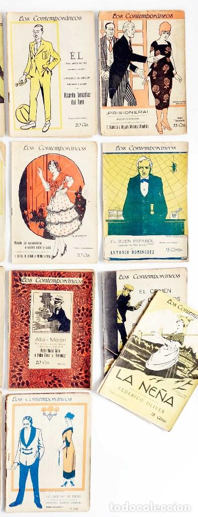Libros antiguos: LOTE 16 LIBRETOS LOS CONTEMPORÁNEOS. AÑOS 1919-1922 - Foto 4 - 168981132