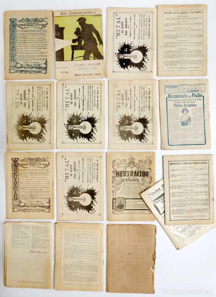 Libros antiguos: LOTE 16 LIBRETOS LOS CONTEMPORÁNEOS. AÑOS 1919-1922 - Foto 5 - 168981132