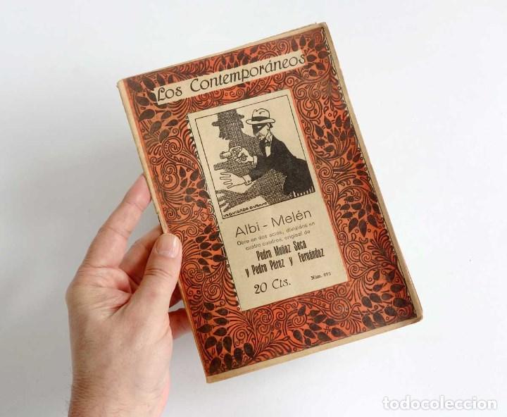 Libros antiguos: LOTE 16 LIBRETOS LOS CONTEMPORÁNEOS. AÑOS 1919-1922 - Foto 6 - 168981132