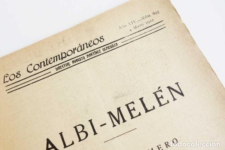 Libros antiguos: LOTE 16 LIBRETOS LOS CONTEMPORÁNEOS. AÑOS 1919-1922 - Foto 8 - 168981132