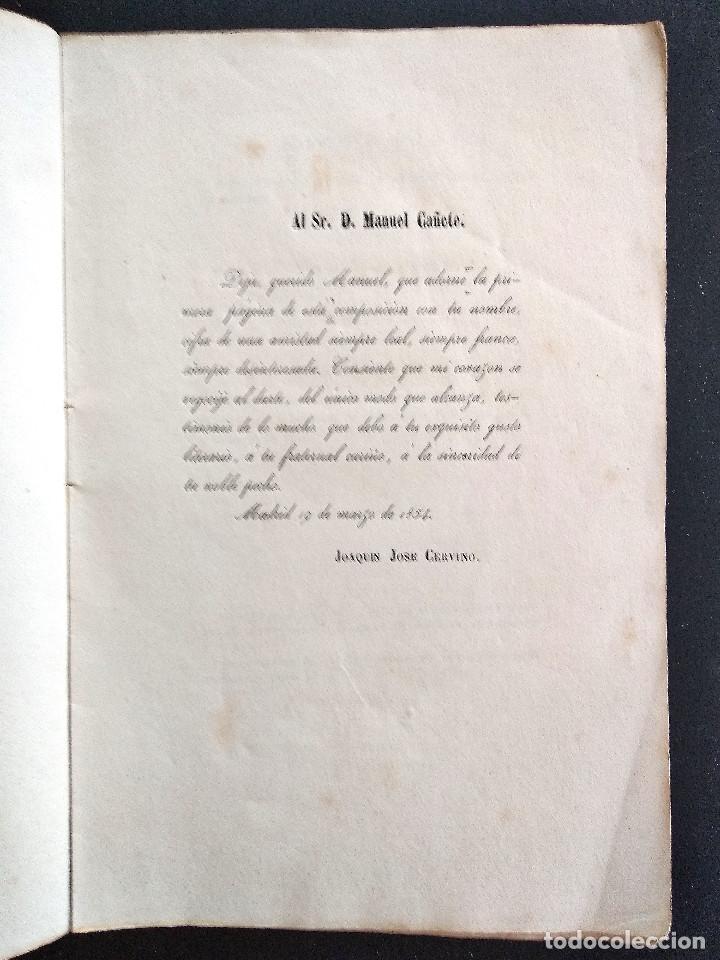 Libros antiguos: JUDIT - JOAQUÍN JOSÉ CERVINO - DRAMA HISTÓRICO - MADRID, IMPRENTA DE FRANCISCO ABIENZO AÑO 1854 - Foto 3 - 169422408